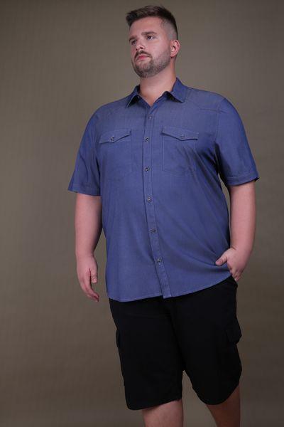 Camisa-plus-size-manga-curta
