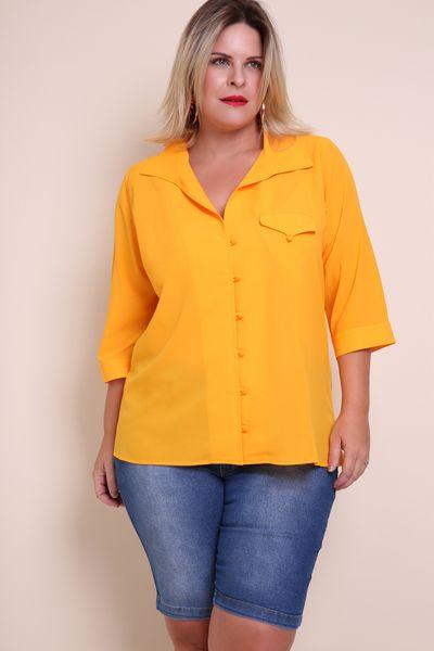 Camisa-creponda-plus-size