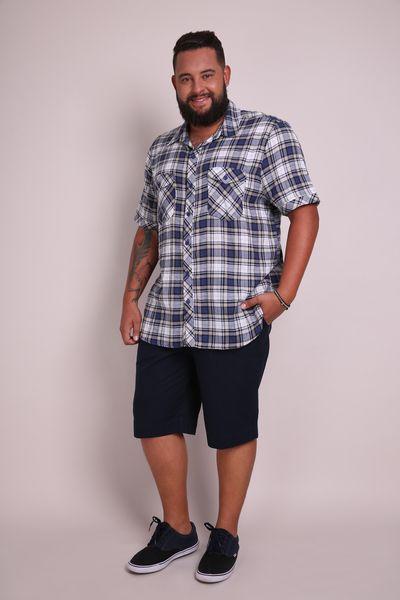 Camisa-xadrez-plus-size