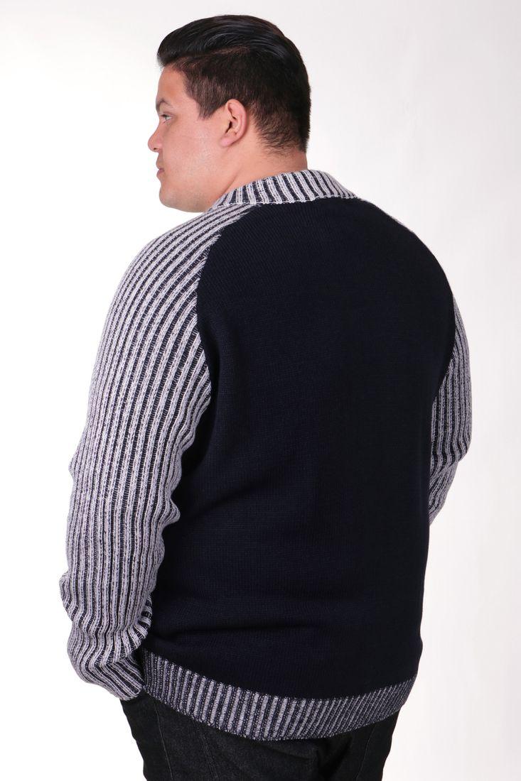 Jaqueta-tricot-plus-size