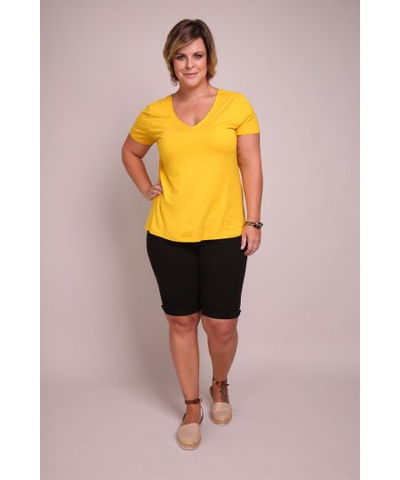 Bermuda-ciclista-color-plus-size