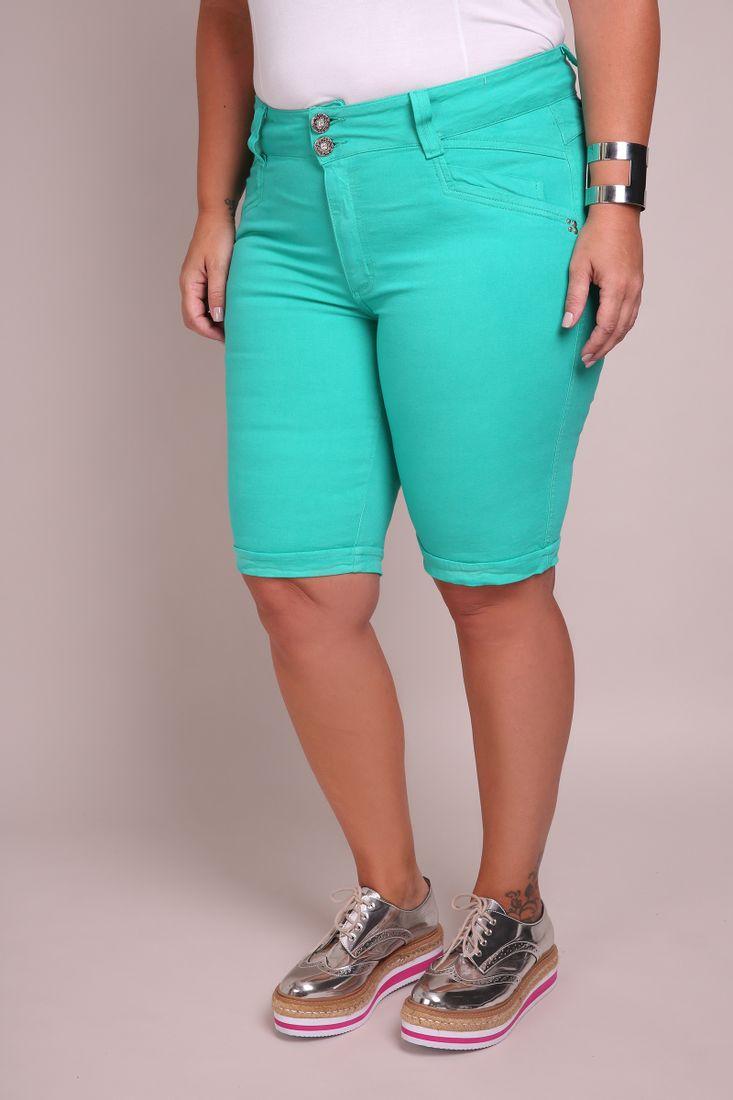 Bermuda-ciclista-color-plus-size
