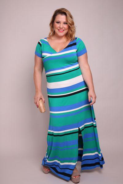 Vestido-longo-listrado-plus-size