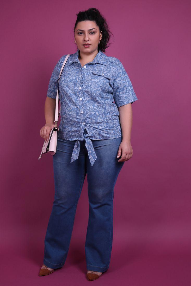 Camisa-jeans-plus-size-Jeans