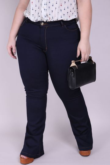 Flare-plus-size-blue
