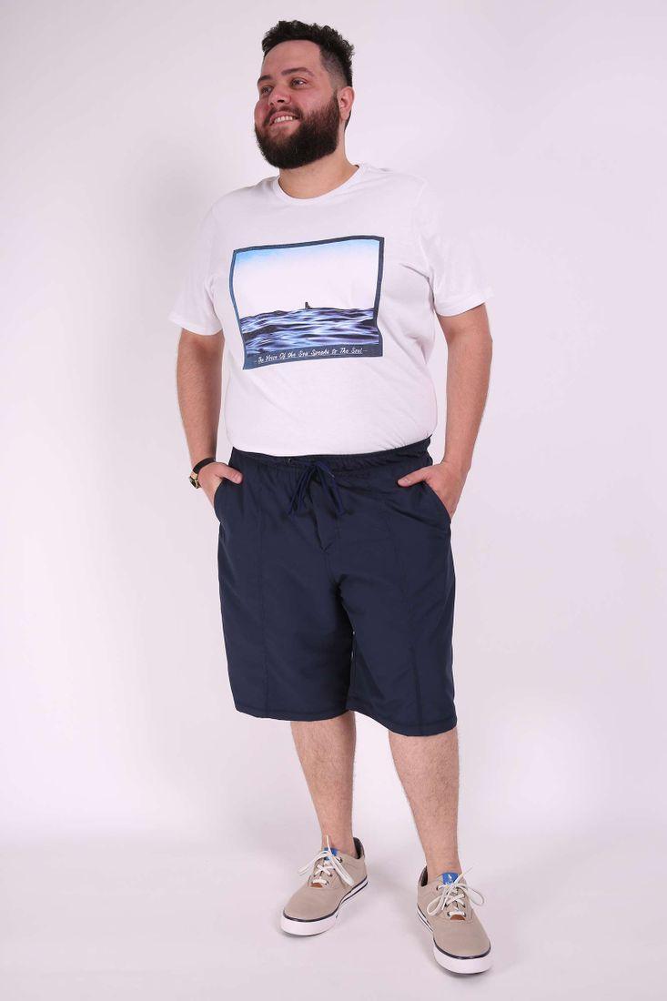 Bermuda-com-bolso-tactel-plus-size