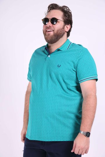 Polo-mini-estampa-plus-size