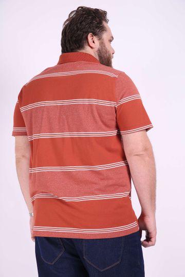 Polo-listrada-masculina-plus-size