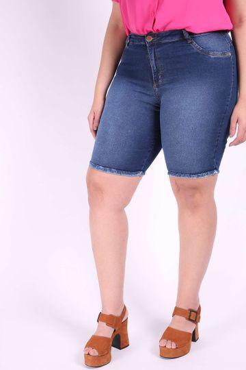 90f809281 bermuda ciclista jeans plus size