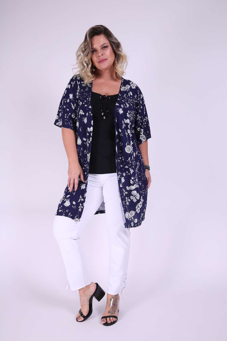 Cardigan-estampado-plus-size