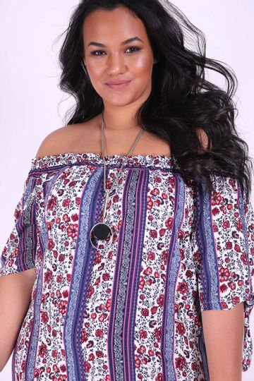 Vestido-floral-ombro-a-ombro-plus-size