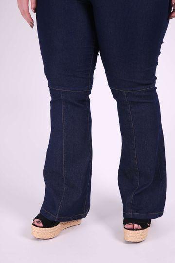 Flare-jeans-lycra-plus-size