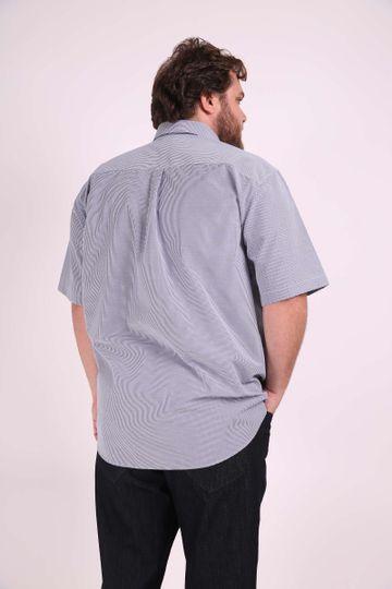 Camisa-tricoline-xadrez-plus-size