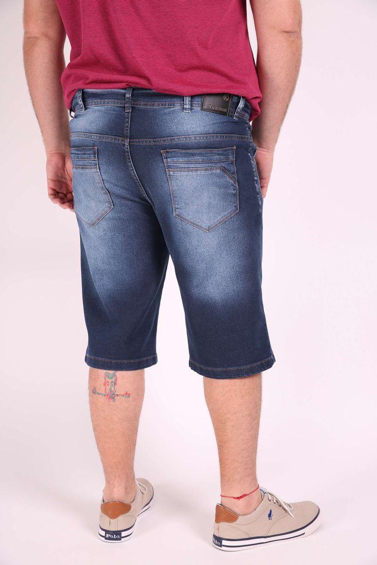 Bermuda-jeans-confort--plus-size