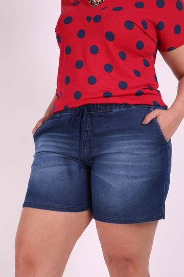 Shorts-jeans-plus-size