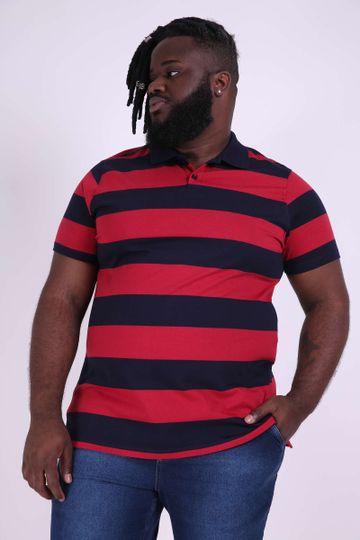 904b828f4e Camisa Polo Masculina Plus Size