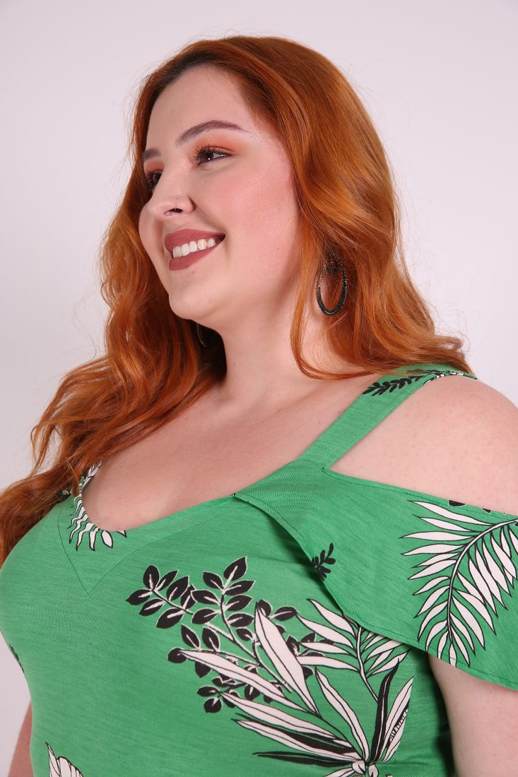 Regata-estampa-tropical-plus-size