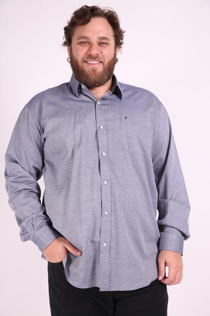 Camisa-manga-longa-tricoline--dupla-face-plus-size