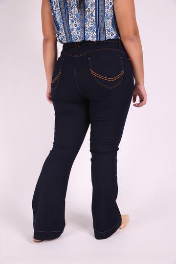 Flare-jeans-blue-plus-size