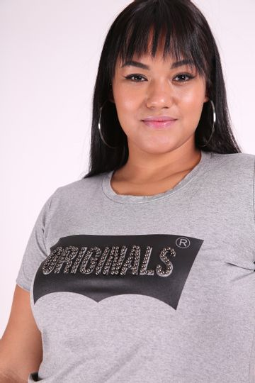 T-shirt--silk-originals-plus-size