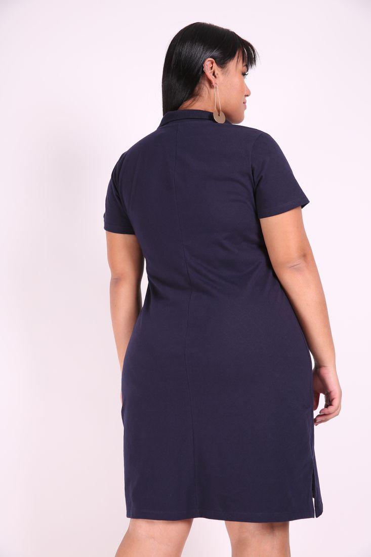 Vestido-polo-plus-size