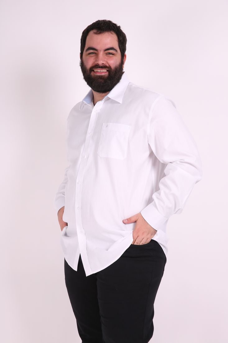 Camisa-manga-longa-maquinetada-fio-60-plus-size
