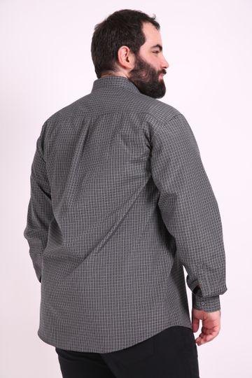 Camisa-manga-longa-xadrez-fio-tinto-plus-size