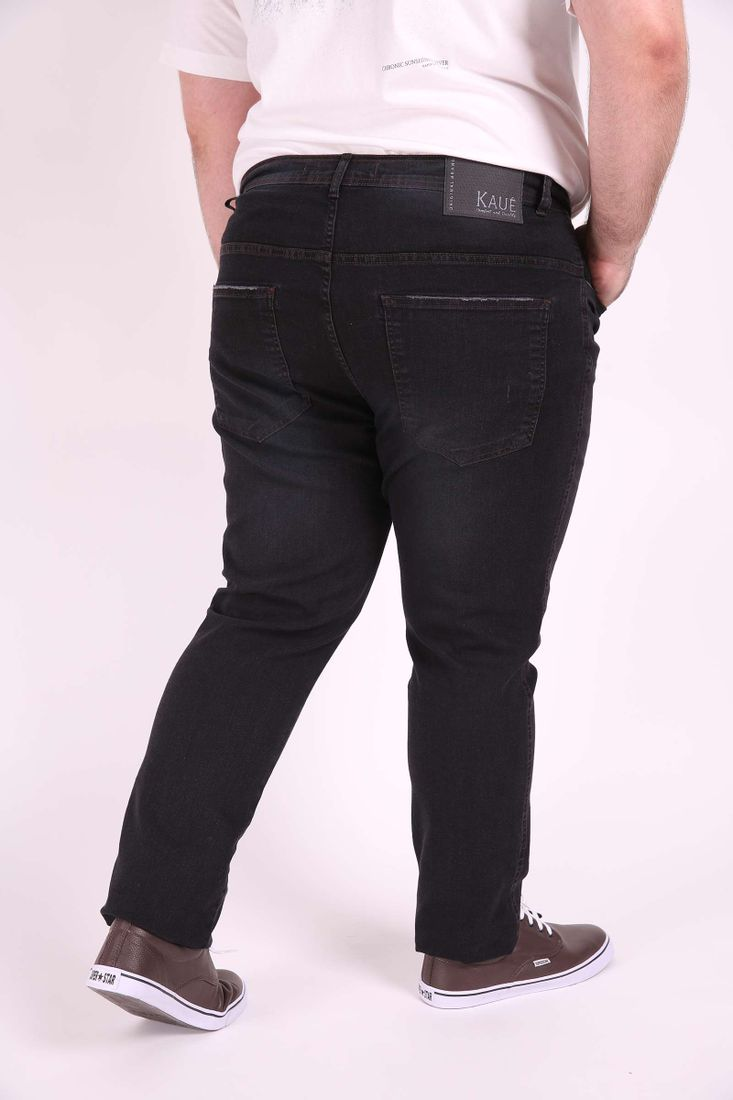 Skinny-jeans-confort-black-plus-size