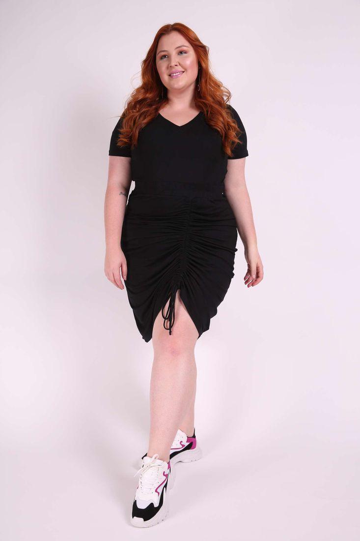 283ef40e3 Vestido curto franzido plus size| Kauê Plus Size - Kaue Plus Size