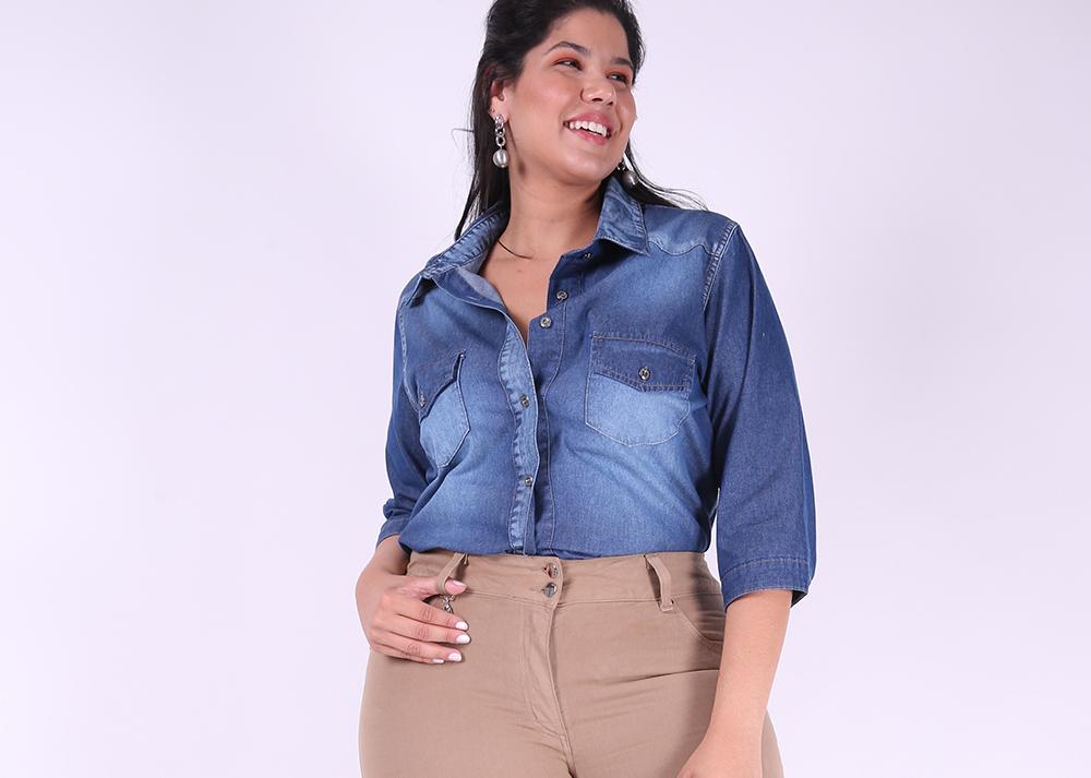Moda Plus Size Feminina e Masculina  eb617035db96f