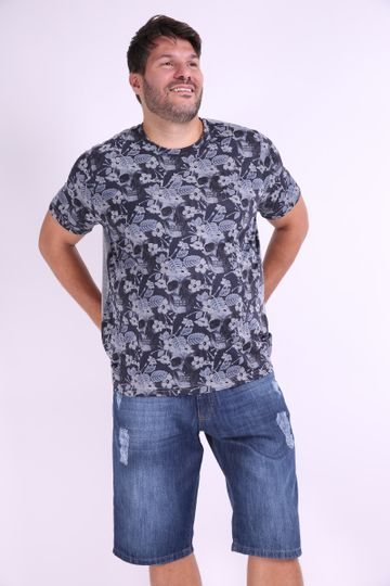Camiseta-estampa-caveira-plus-size