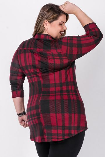 Mini-vest-xadrez-plus-size-