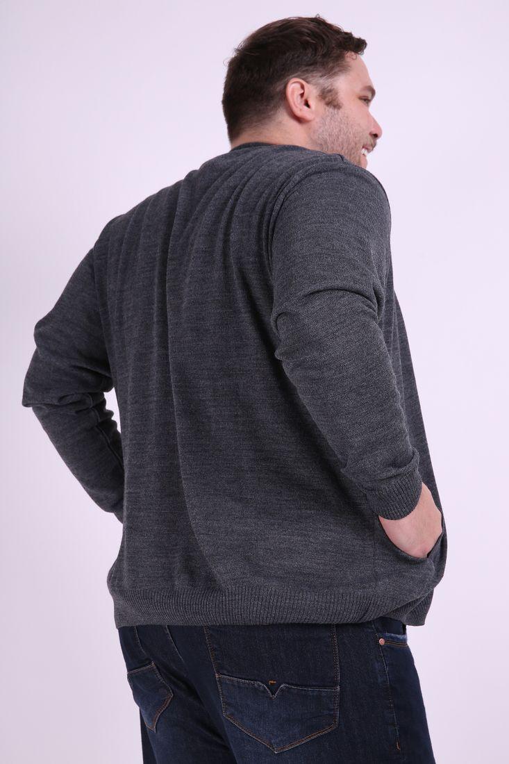 Cardigan-masculino--tricot-plus-size