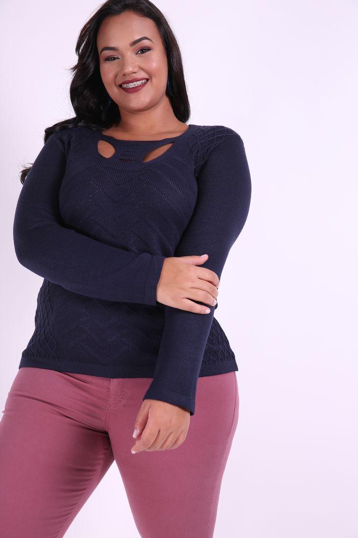 Blusa-tricot-detalhe-no-decote-plus-size