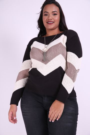 Blusa-tricot-chevron--plus-size