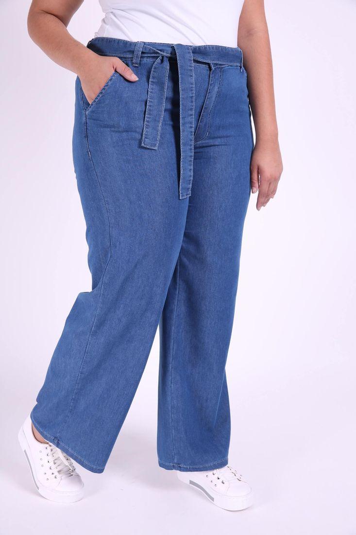 Calca-Pantalona-Jeans-com-cinto-Plus-Size