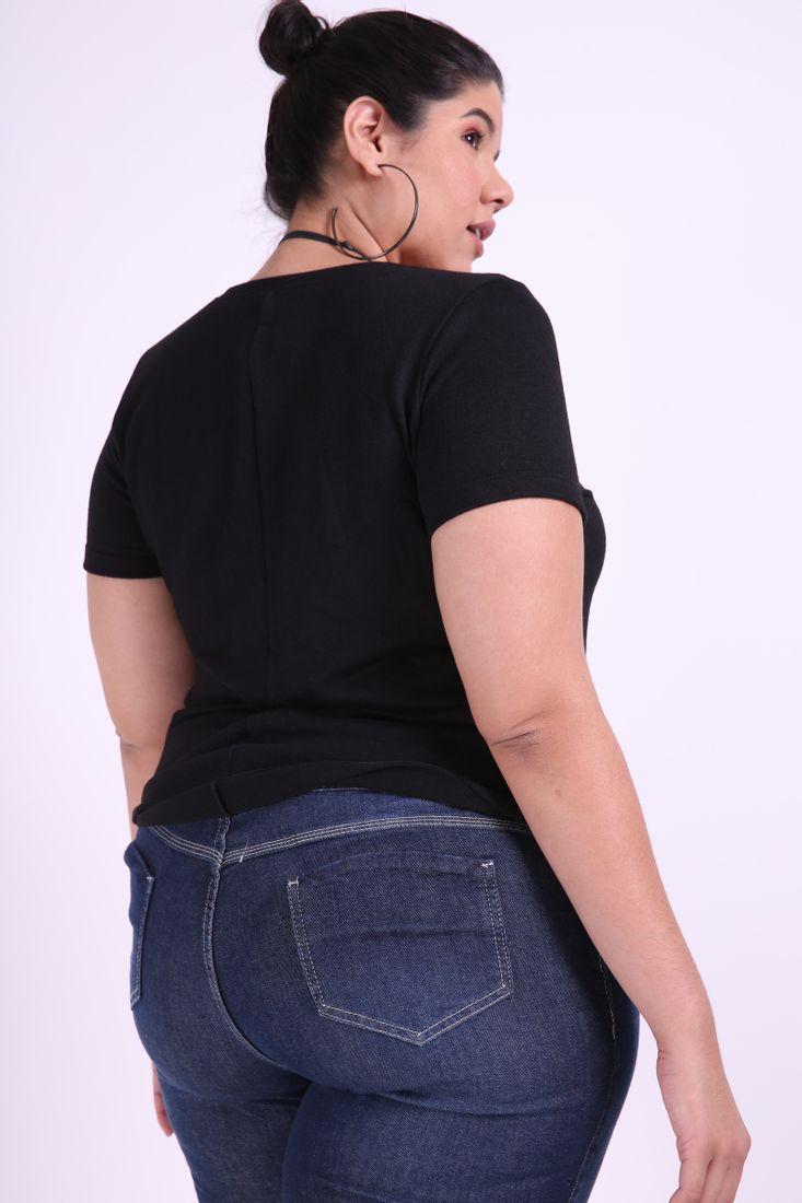 Blusa-manga-curta-tricot-plus-size