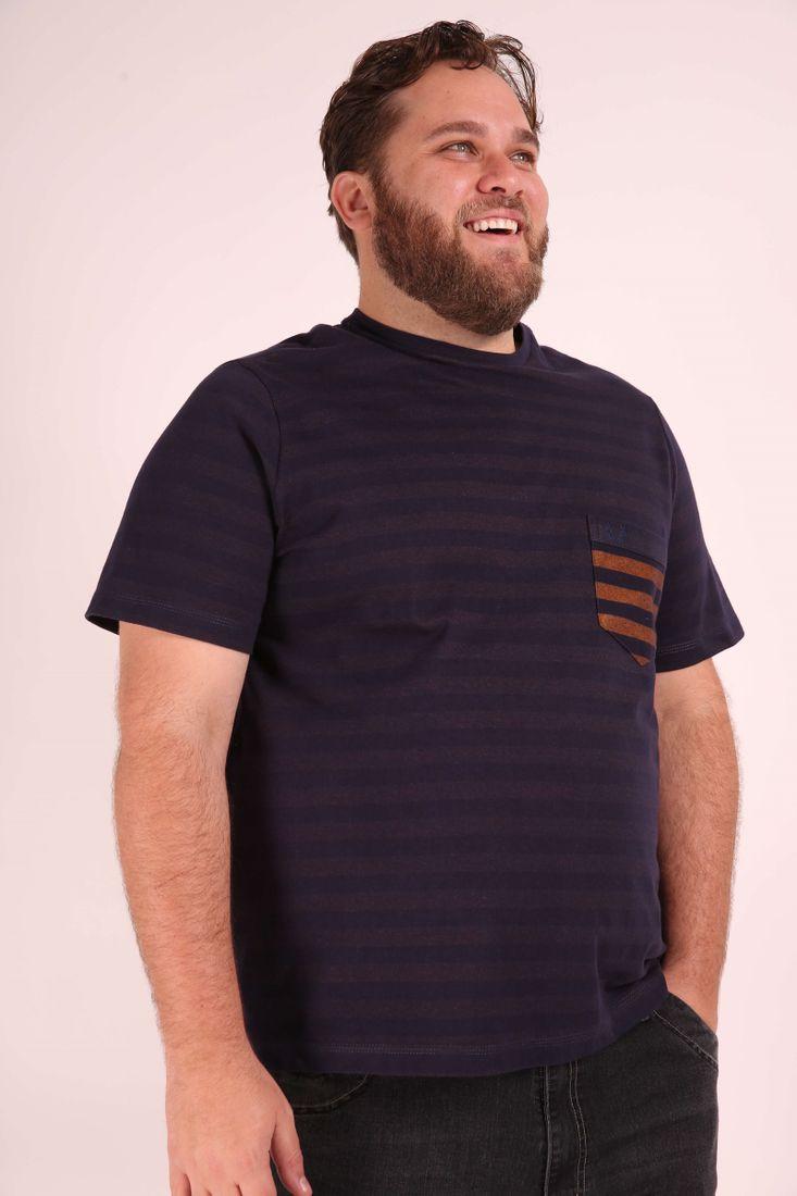 Camiseta-com-bolso-listras-plus-size
