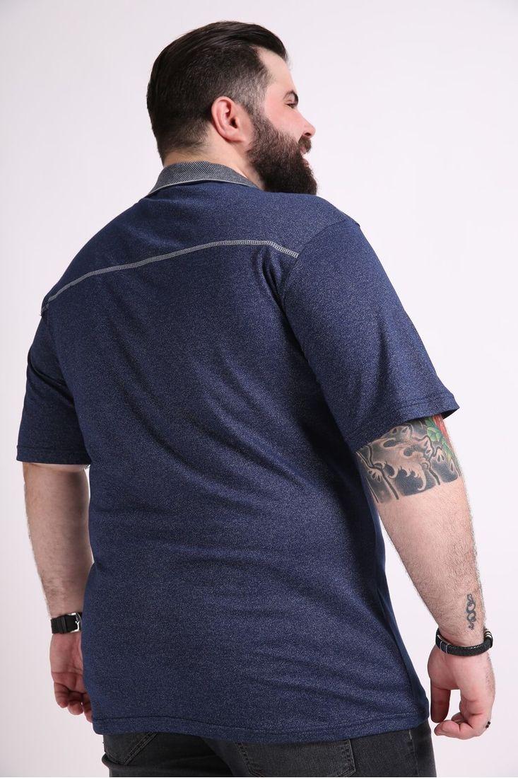 Camisa-polo-masculina-jacquard-plus-size