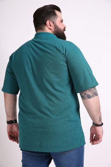 Camisa-polo-manga-curta-jacquard-plus-size
