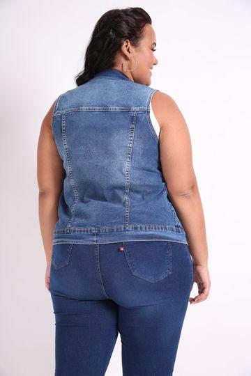 Colete-jeans-plus-size