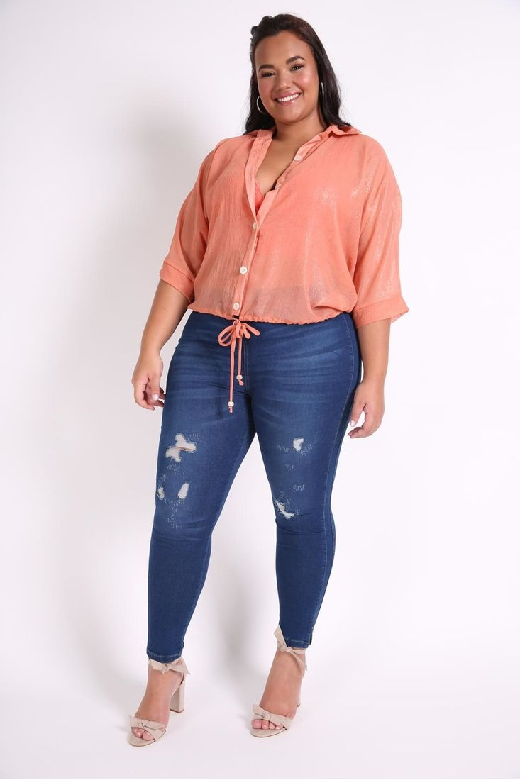 Conjunto-blusa-e-top-renda-plus-size