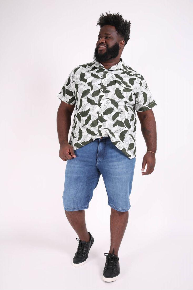 Bermuda-moletinho-jeans-masculina-plus-size