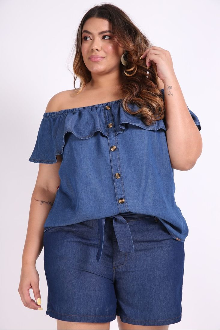Blusa-jeans-ombro-a-ombro-com-botoes-plus-size