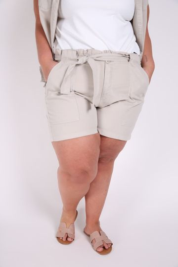 Short-clochard-plus-size