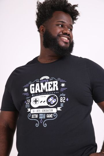 Camiseta-estampa-gamer-plus-size