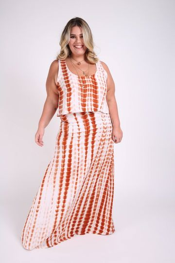 Vestido-regata-babados-plus-size