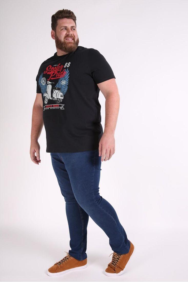 Camiseta-estampa-scooter-plus-size