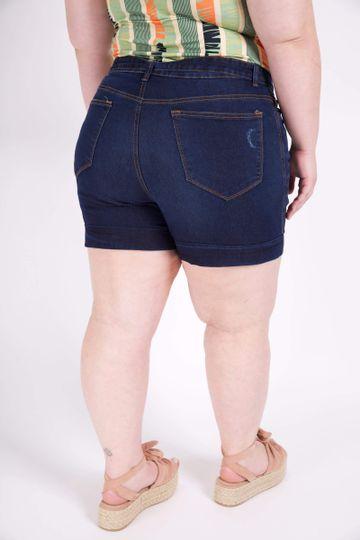 Short-jeans-com-cinto-plus-size