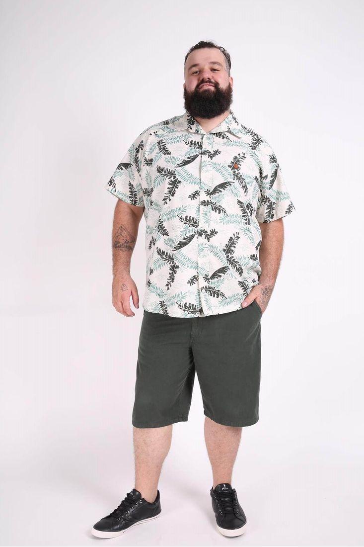 Camisa-manga-curta-estampada-plus-size
